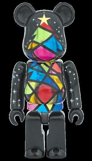 Art Toy Bearbrick Navidad 2016 Negro