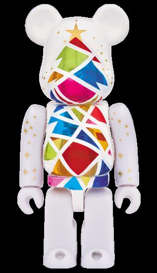 Art Toy Bearbrick Navidad 2016 Blanco