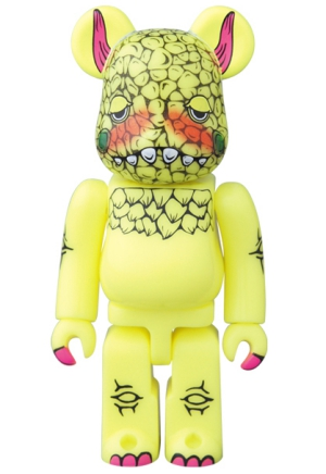 Bearbrick Diseño Artist Yellow Monster Series 33