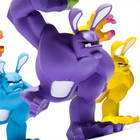 Art Toy Paw! de diferentes colores de Coarse