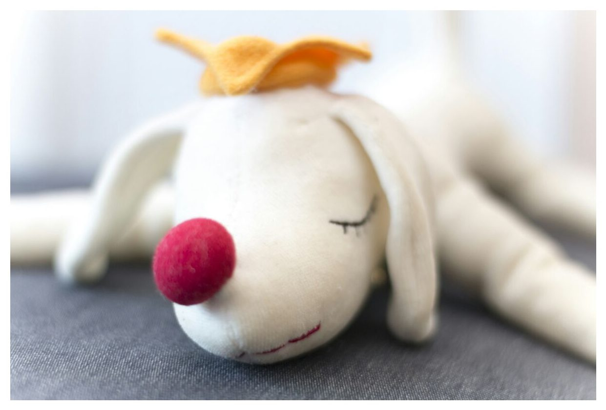 Art Toy Plush Pup King de Yoshitomo Nara