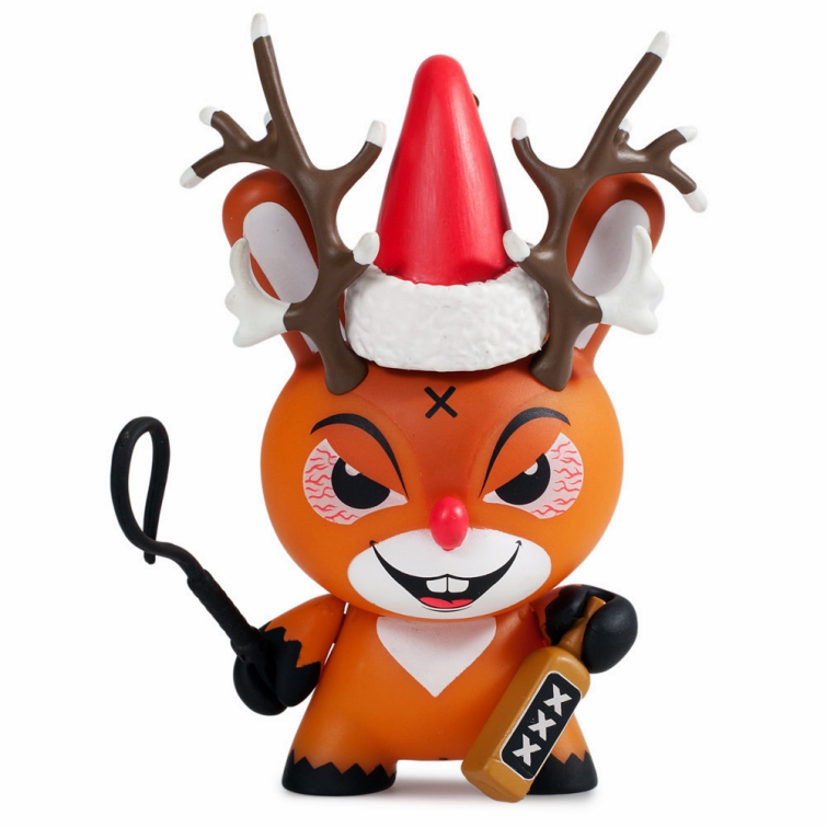 Dunny Rise of Rudolph Art Toy