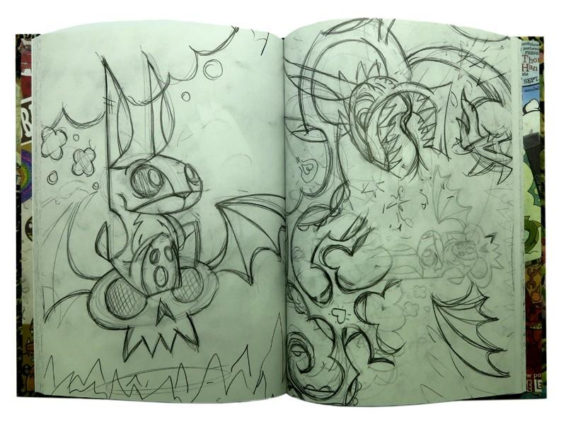 Joe Ledbetter's Sketchbook Ejemplo