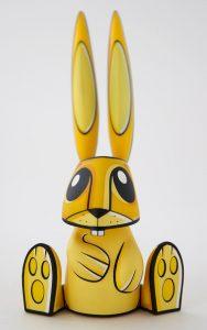 Mr Bunny Art Toy Joe Ledbetter