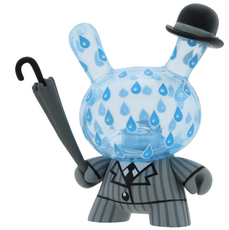 Dunny Rainy London de Triclops Art Toy