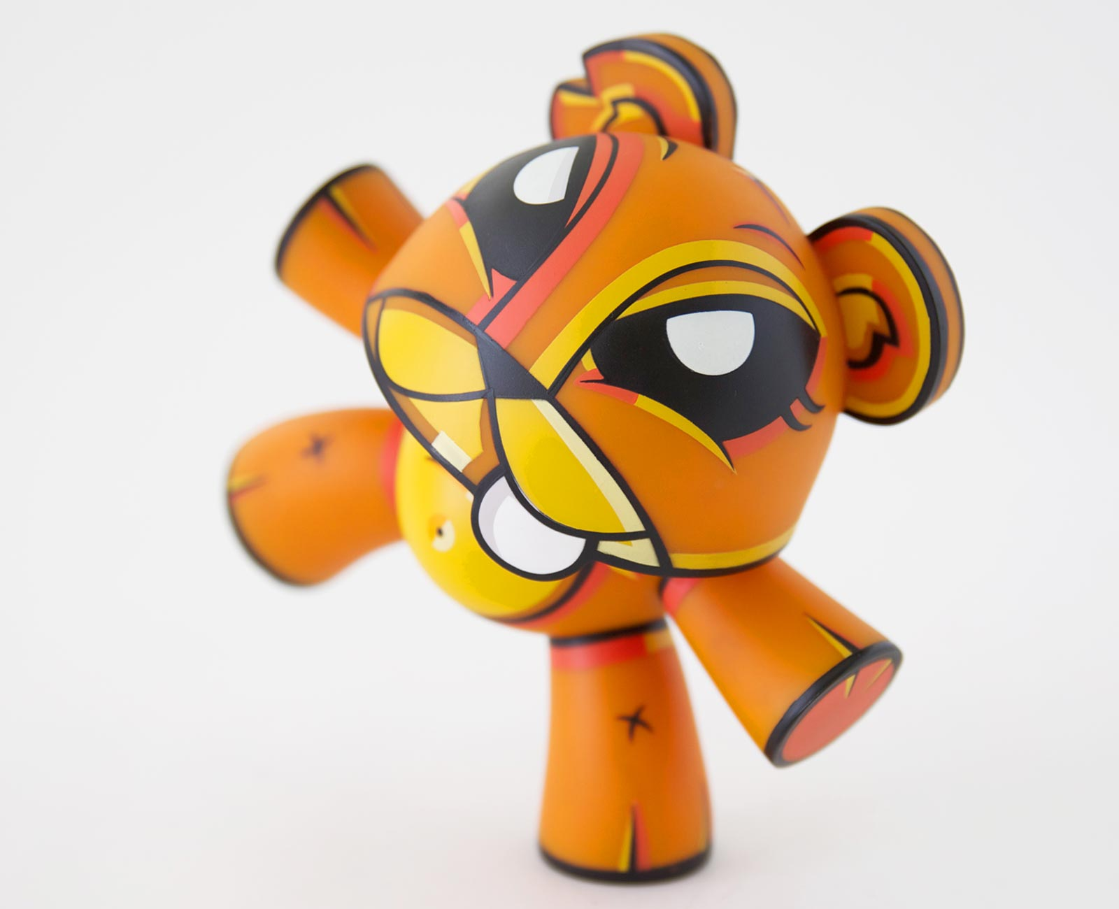 Teeter Orange Art Toy Joe Ledbetter