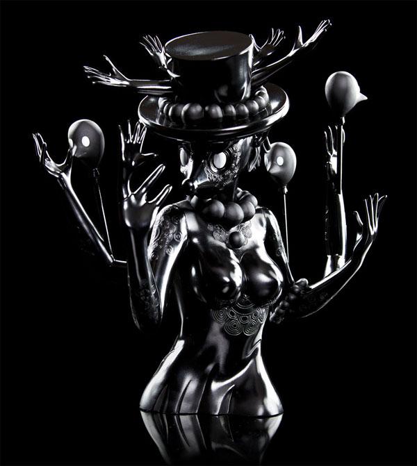 Art Toy Blueberry de Kidrobot Black
