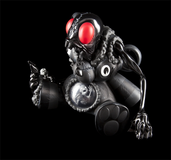 DigesTED Art Toy de Kidrobot Black