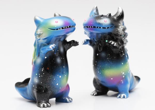 Sofubi Byron & Rangeron (Starry Sky Vers.) de Shoko Nakazawa
