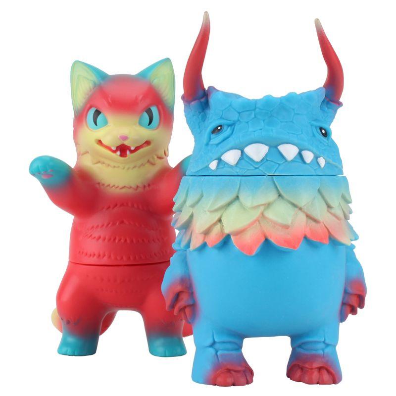 Sofubi Negora de Konatsu & Pogola de Dan Kaiju