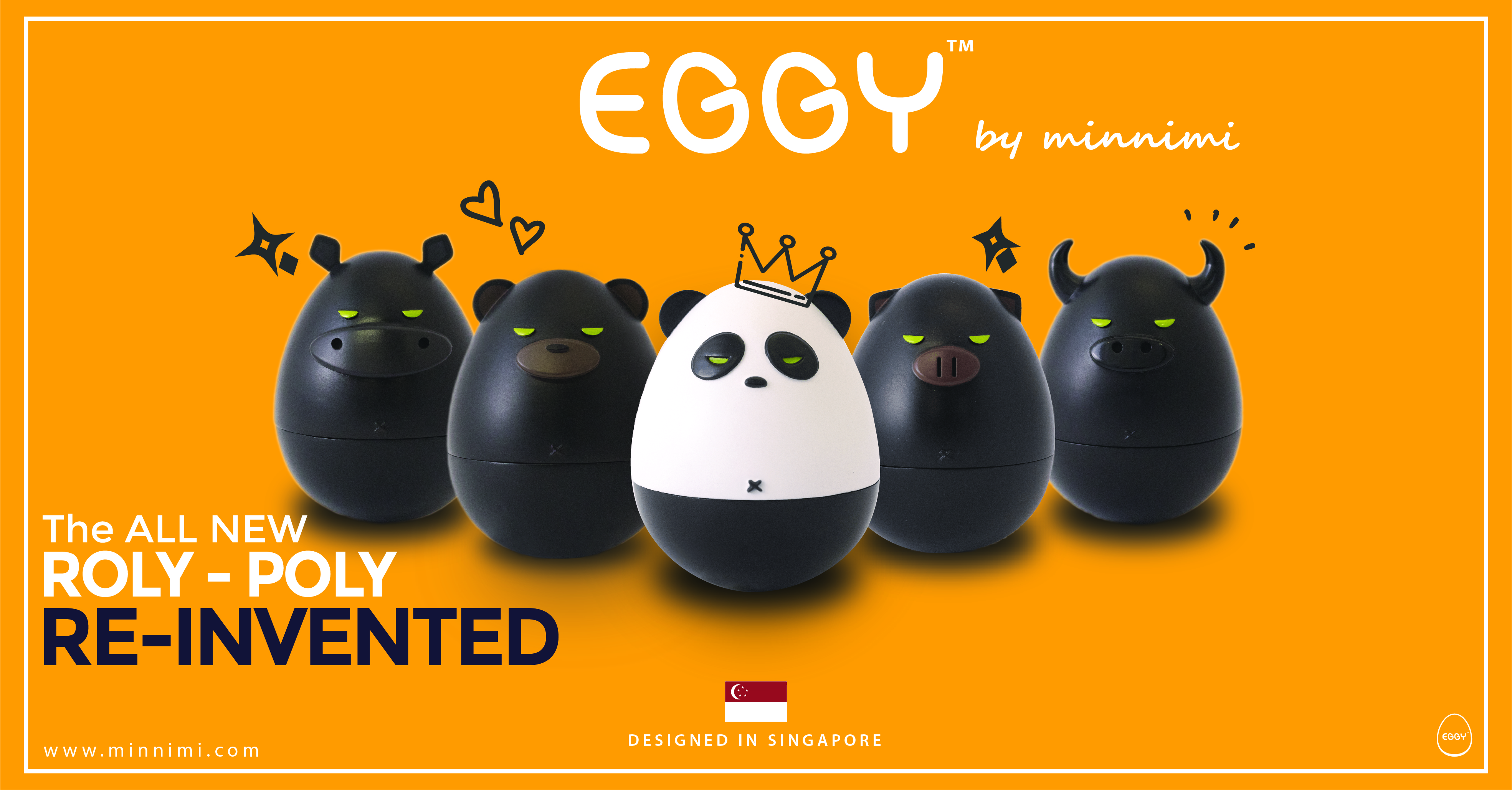 Eggy Art Toys by Minnimi