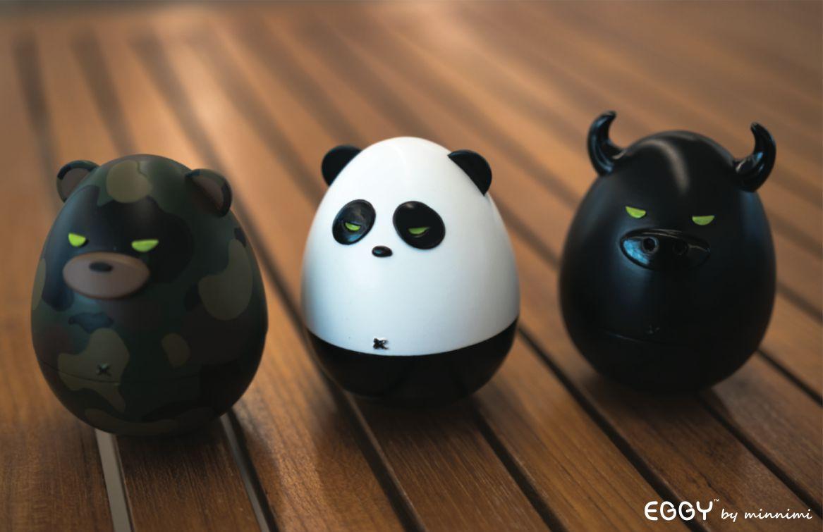 Eggy Art Toys by Minnimi