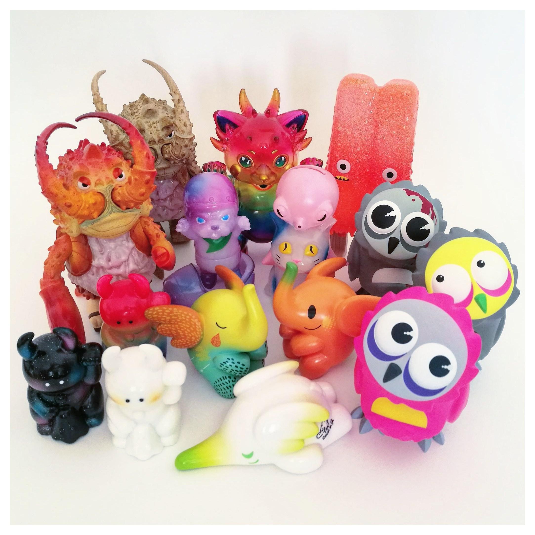 Nuestras Compras de Art Toys en Bangkok