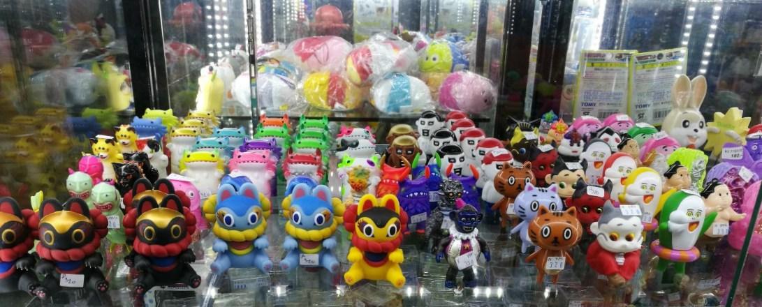 Mahanatoys Art Toys en Taialandia Mega Plaza