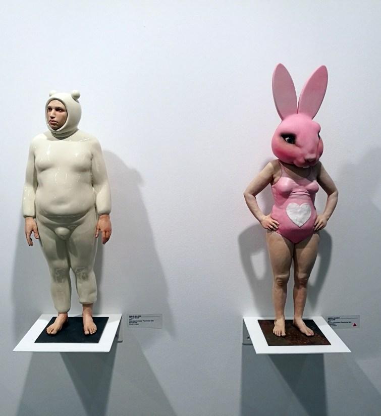SWAEsculturas Samuel Salcedo Conejo y Oso
