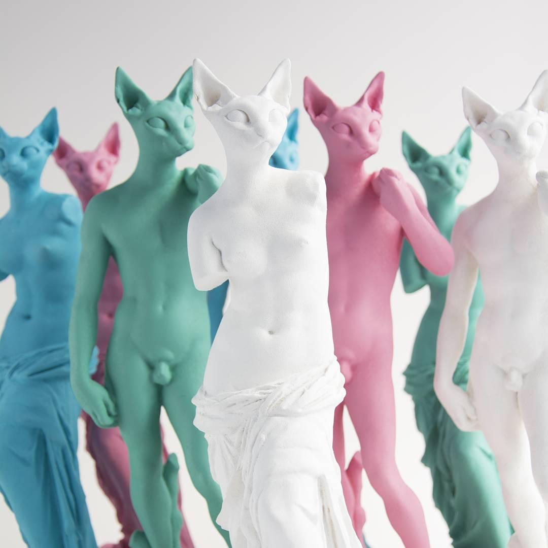 Art Toys de Juan Blu Gatos y Bellas Artes