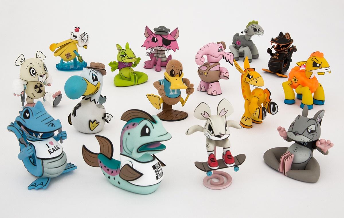 The Outsiders by Joe Ledbetter Art Toys