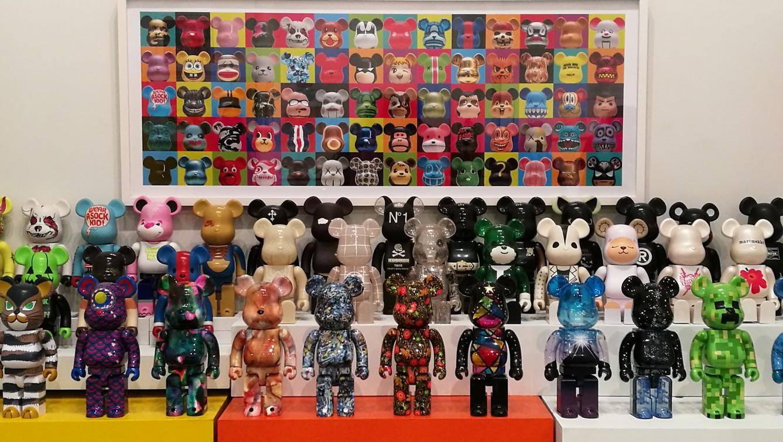 Art Toys Exposición Juan Redon Bearbrick
