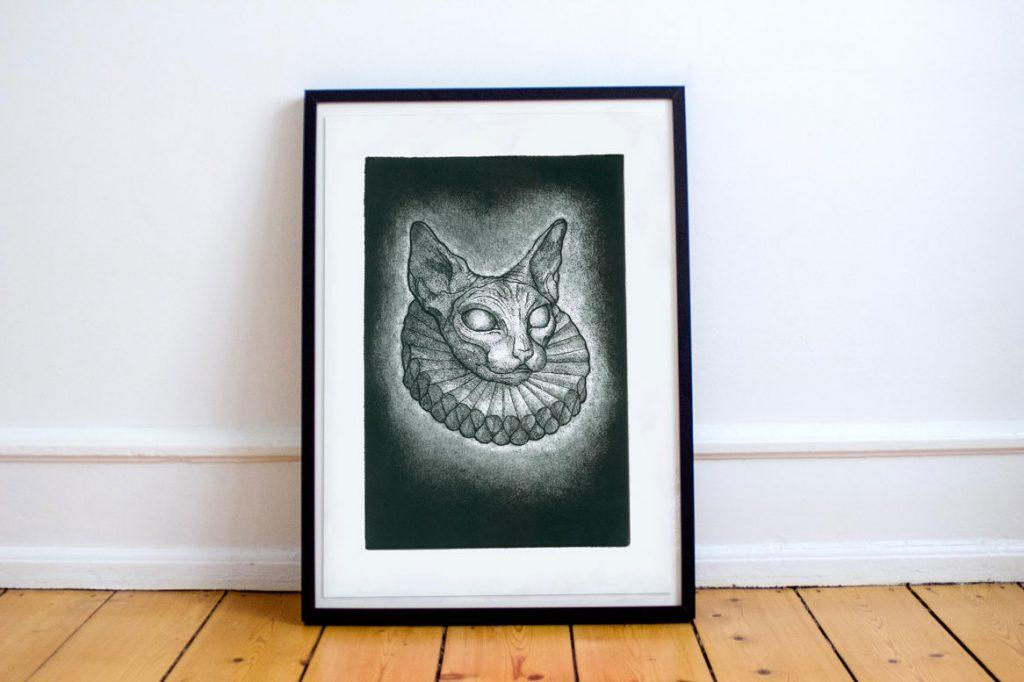 Lord Cat Juan Blu Print
