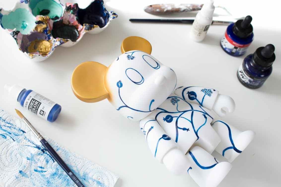 Qee Art Toy Custom Cristina Ravenna
