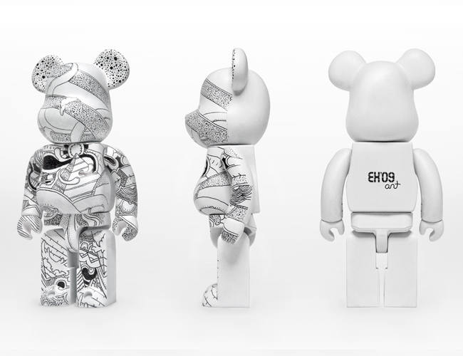 Ant Hayes Antisant Fake Exhibition Custom Bearbrick