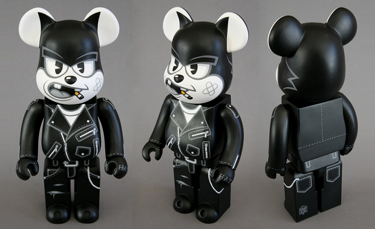 Fakirdesign Felix the Bad Cat Custom Bearbrick