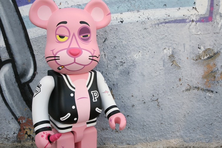 Fakirdesign Punk Panther Custom Bearbrick