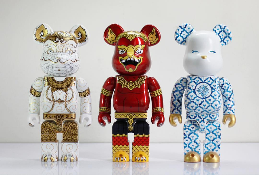 Khram Factory M Phankphoom Custom Bearbricks