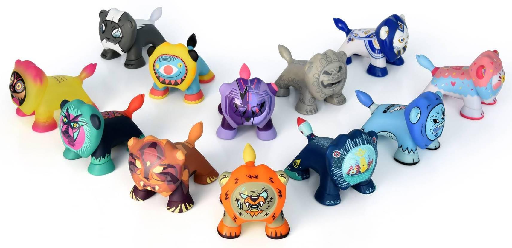 Leo'z Peugeot Artoyz Art Toys Serie 3