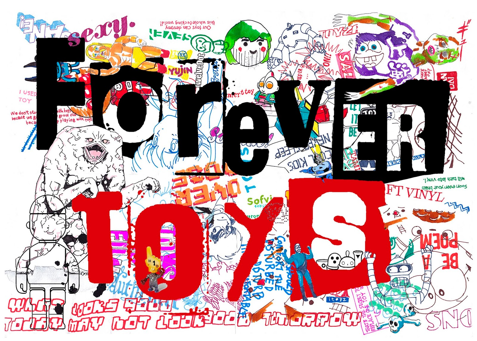 FOREVER TOYS ART TOY GAMA EXHIBITION SPAIN (5)
