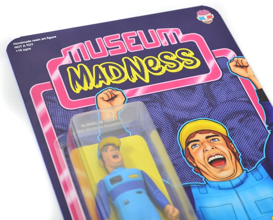 Museum Madness - Nastytheplastic Art Toy Bootleg