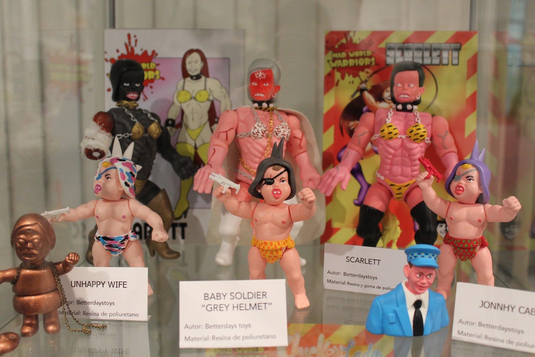 Plastico x Resina - Expo Art Toys Malaga (Betterdaystoys)-min