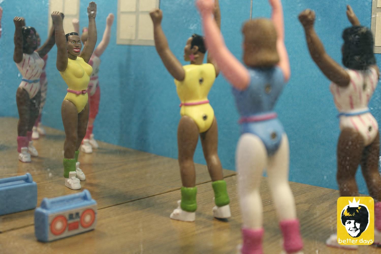 80s Workout de Betterdaystoys