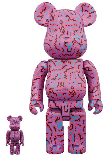 Keith Haring 2 Bearbrick-min