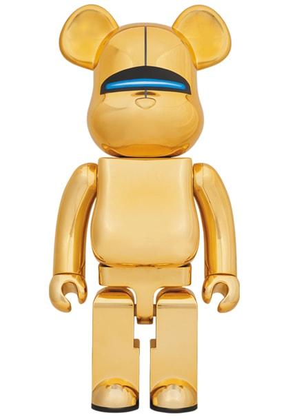 Sorayama Gold Bearbrick-min