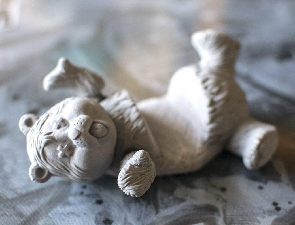 Who Care Bears Art Toy Emilio Subira Resin