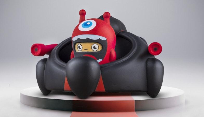 Monstrips LEO Art Toy Jhon León
