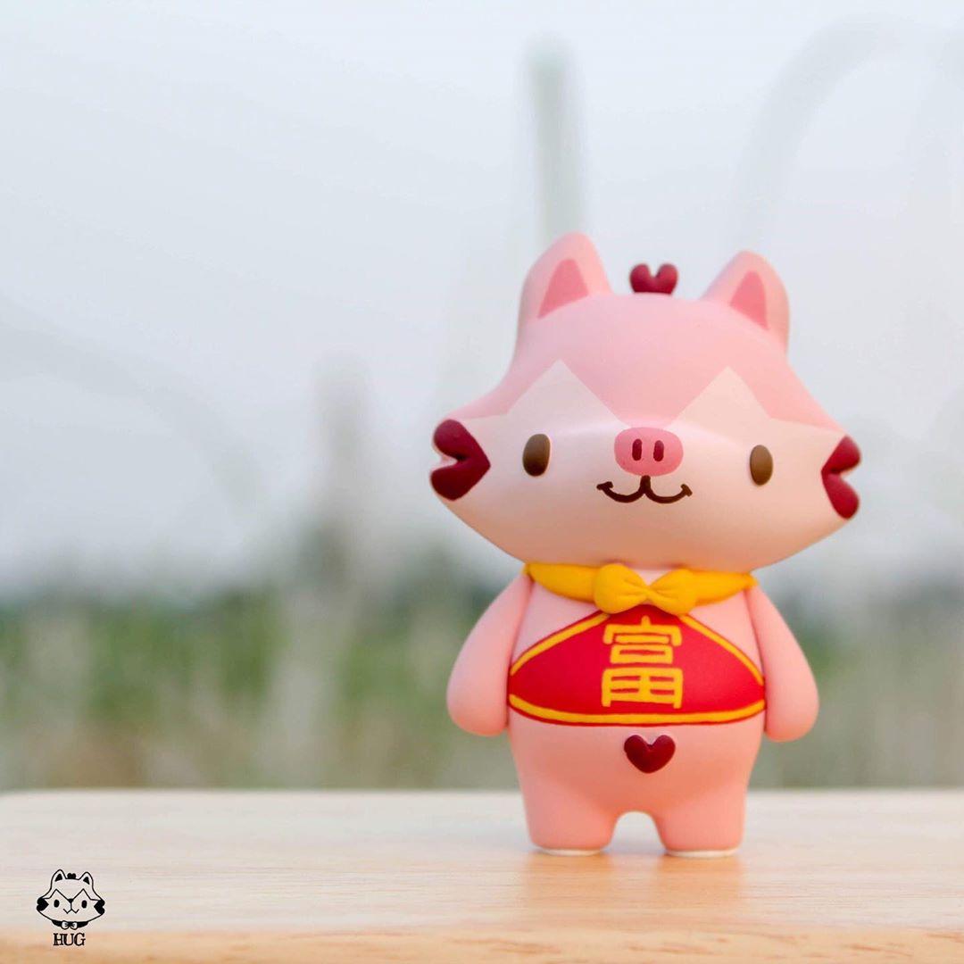 Hug Lucky Pig Edition de Hugy Me-min