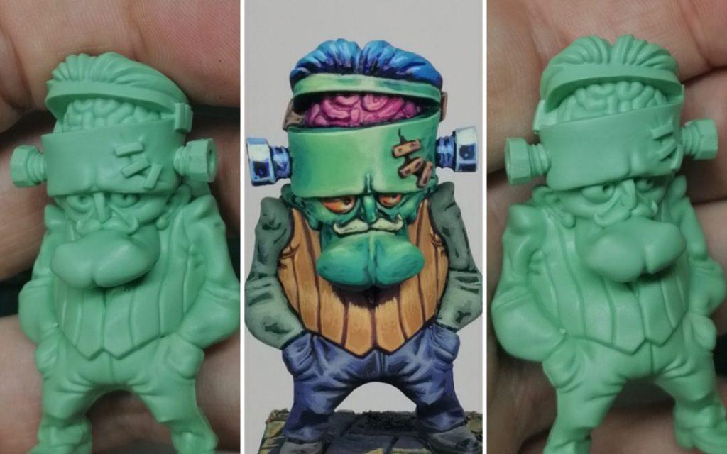 Curso pintado miniaturas acrílico consell 81 jero miniatures