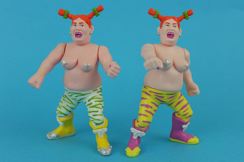 Olga Betterdaystoys Resin Toy Art Toy