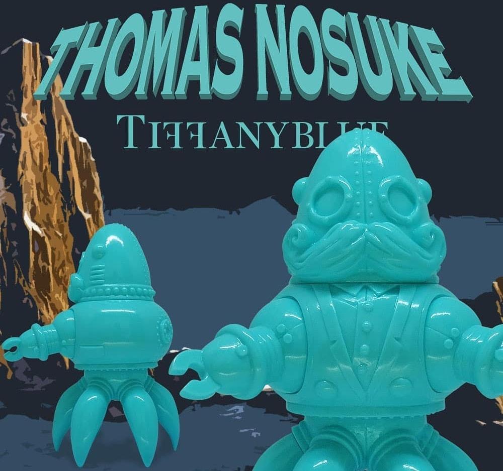 Thomas Nosuke Tiffany Blue Doktor A Tomenosuke Sofubi Art Toy