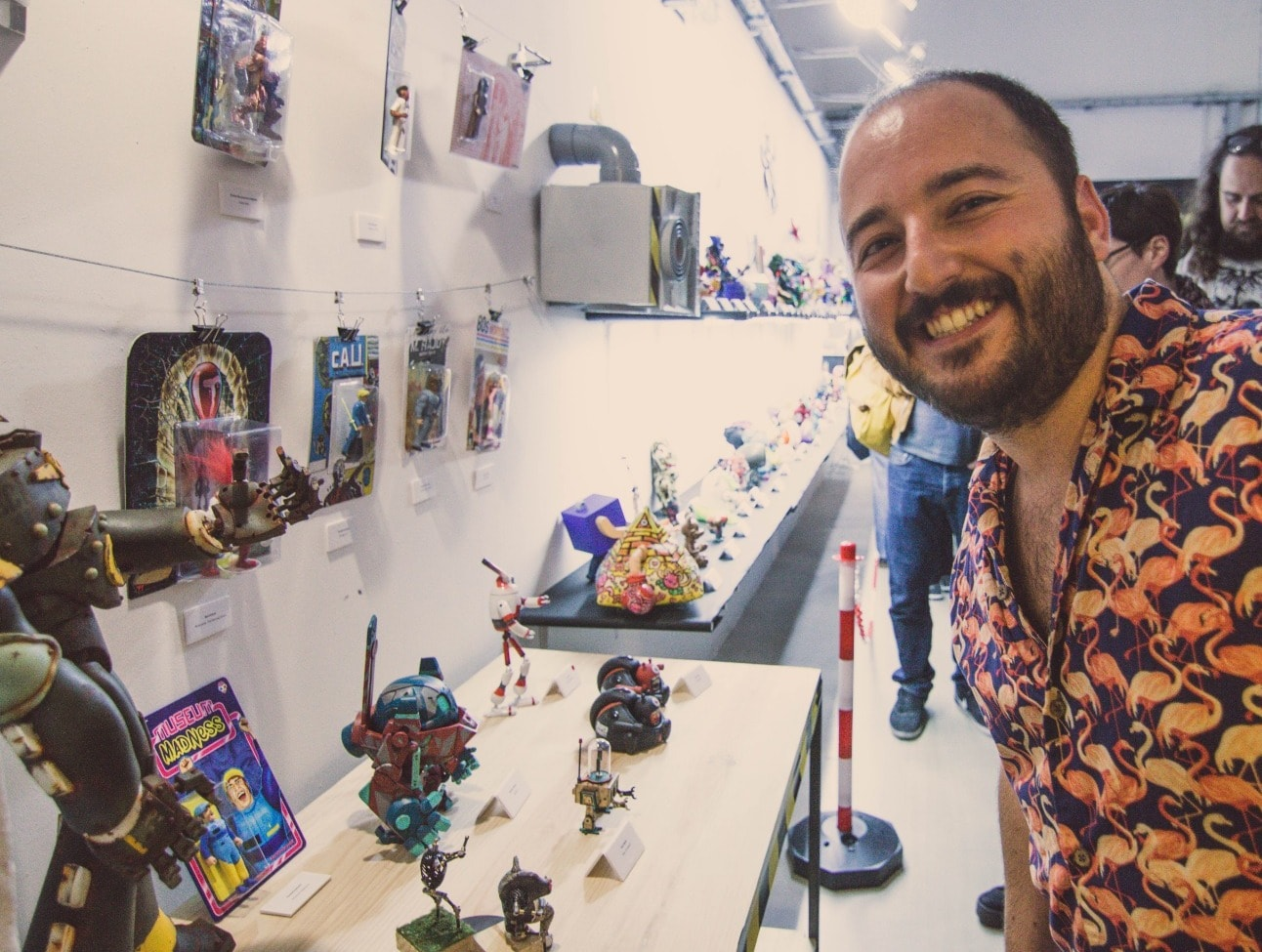Inauguración Expo Toys BCN 2019 Art Toys Exhibition