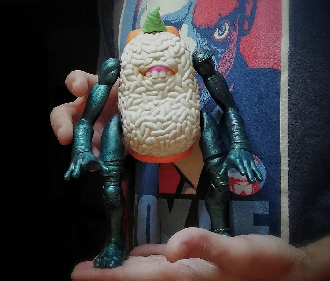 Sushiro Yokai 2.0 Emilio Subira Art Toy Resin Toy