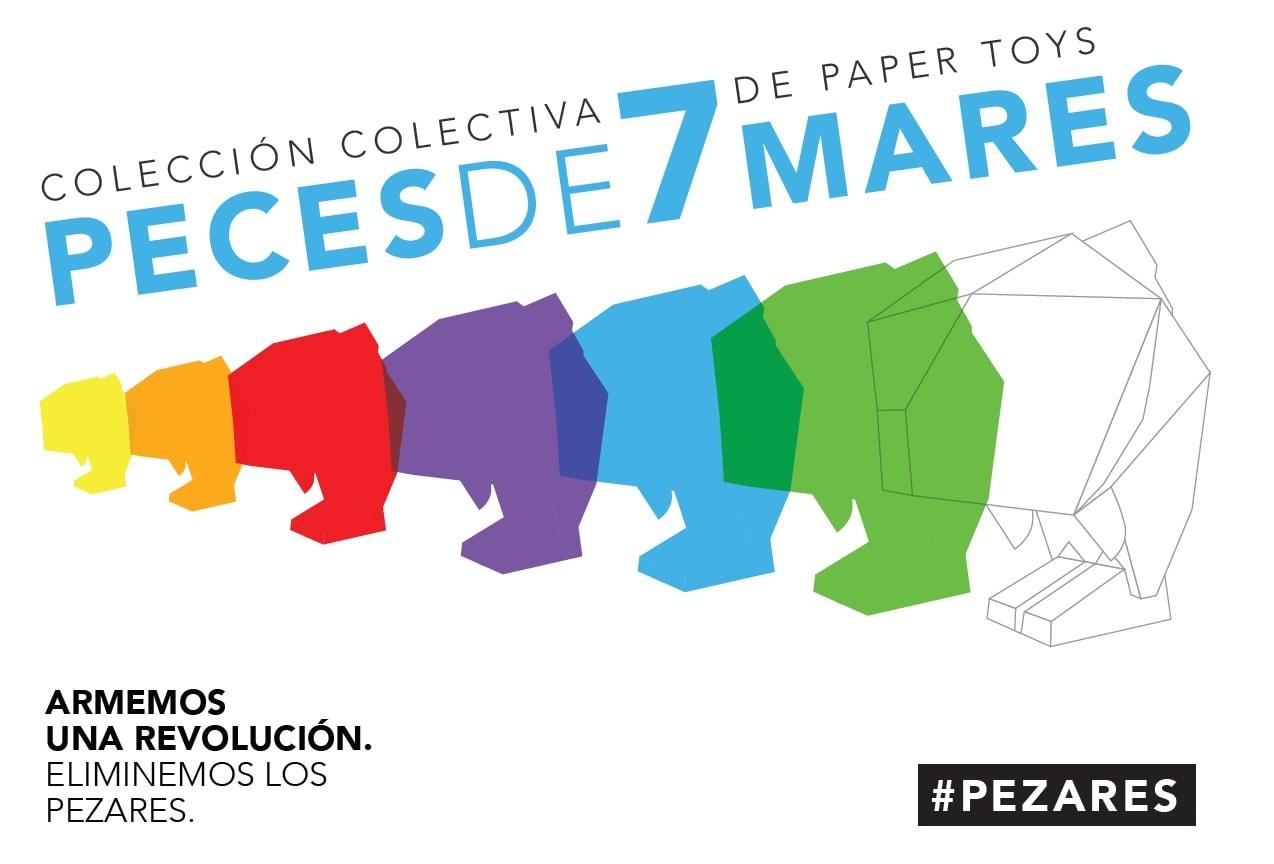 Pezares Exposicion Art Toys Paper Toy
