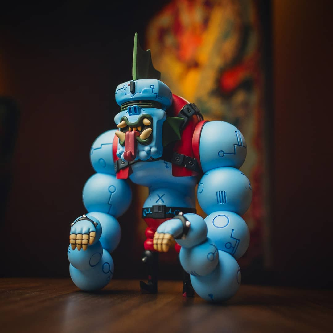 Burbarg Rultron 6 Forest Art Toy Resin Toy