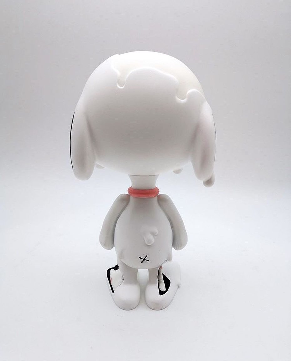 Cote Escriva Thunder Mates Creepy Snoop Snoopy Art Toy