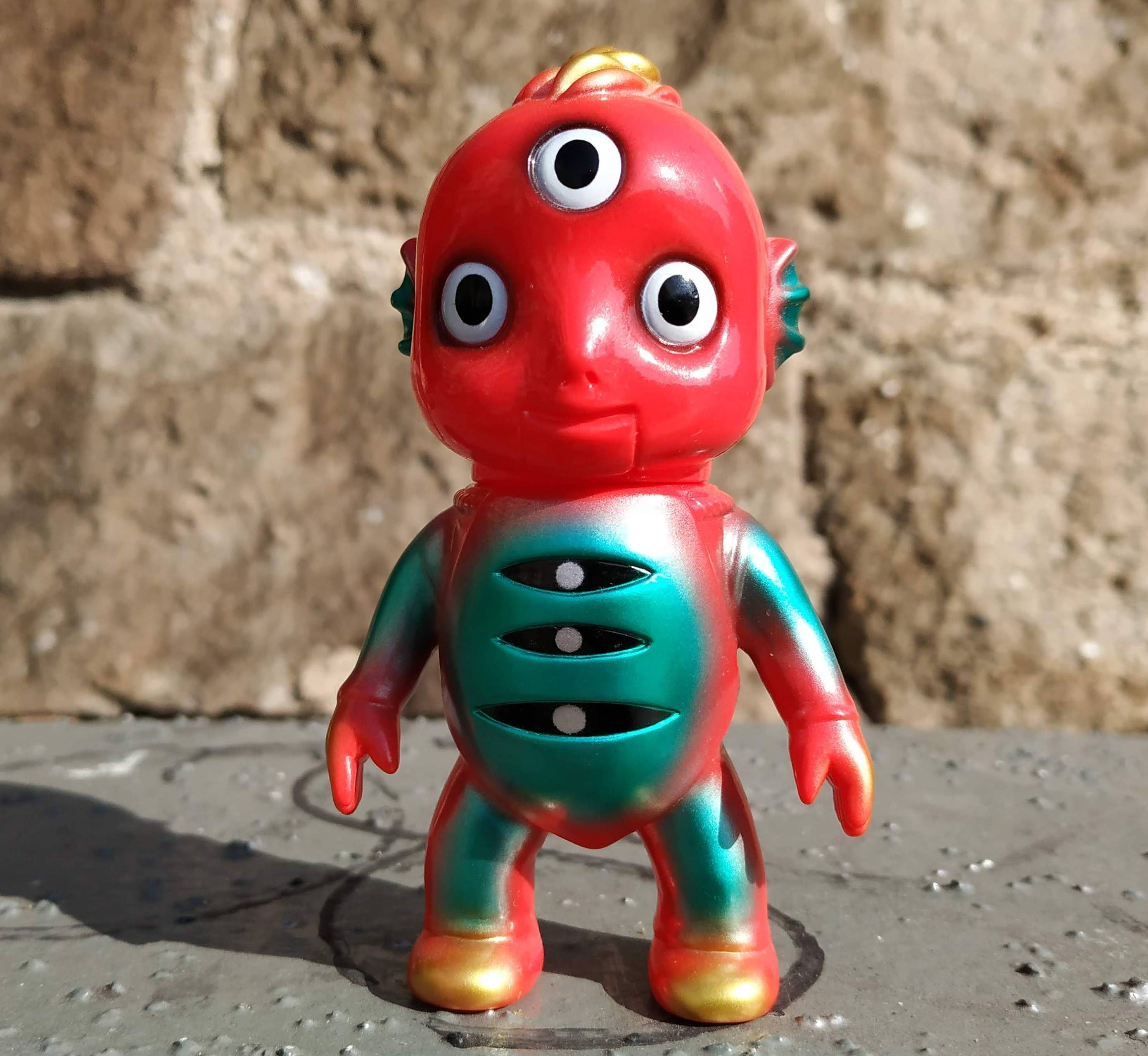 Drunk Seijin Katope Super 7 Sofubi Art Toy