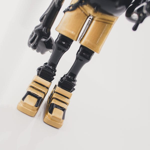 Jelly Buddy Black Gold Rultron 6 Forest Art Toy Resin Toy