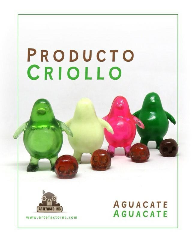 Aguacaticos Aguacate Avocado Resin Art Toy Ivan Dario Espinel Artefacto Inc
