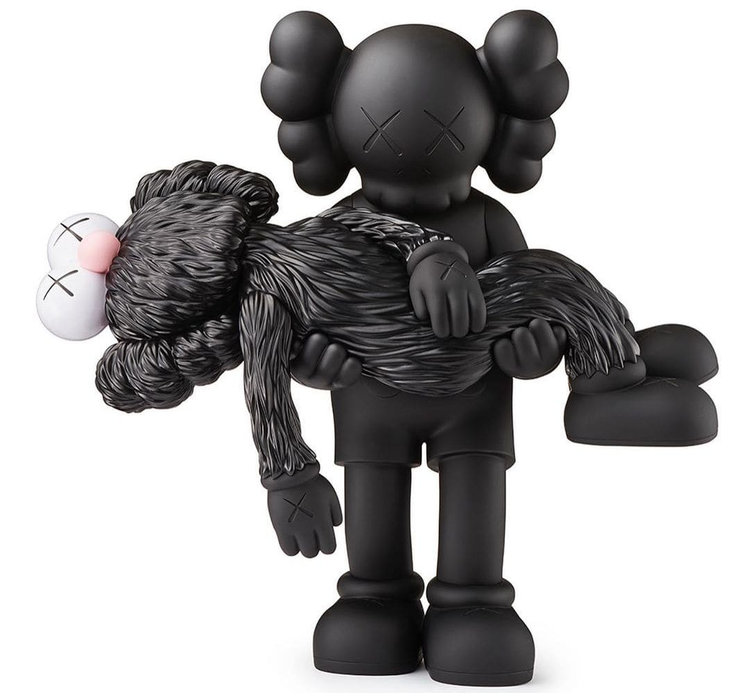 Kaws Gone Companion Vinyl Figure Art Toy